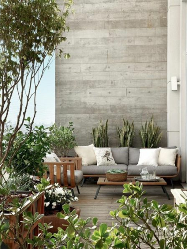 Eine Wunderbare Terrasse Gestalten Schöne ...