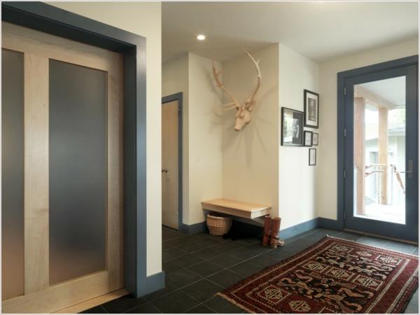 interessantes Interior Design im Flur