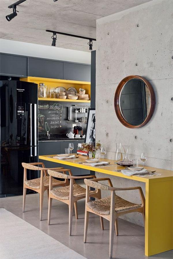 Esszimmerstühle-Design- Ideee-für eine-tolle-Küche-