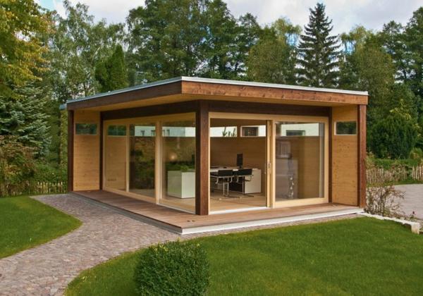 Moderne Gartenhäuser – 50 Vorschläge für Sie!