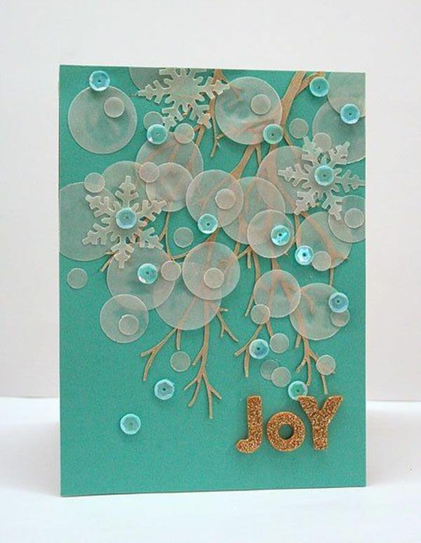 Sch ne weihnachtskarten selber basteln mehr als 100 for Best personalized christmas cards