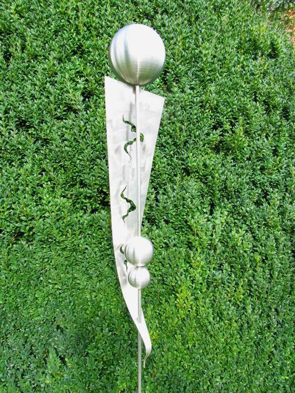 Gartendeko edelstahl gartenstecker  Gartendeko aus Edelstahl: 41 super Fotos! - Archzine.net