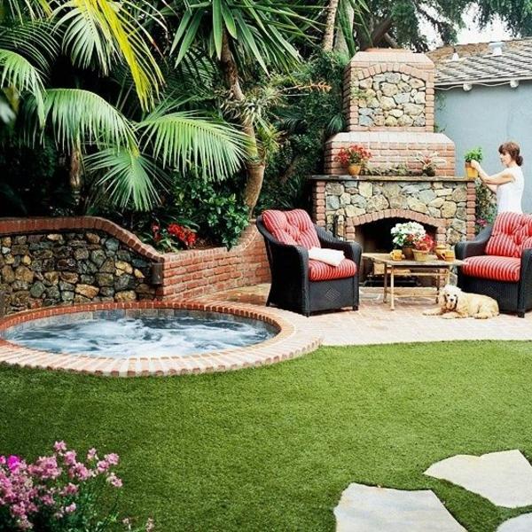 Gestaltungsideen Für Den Perfekten Garten Mit Whirlpool