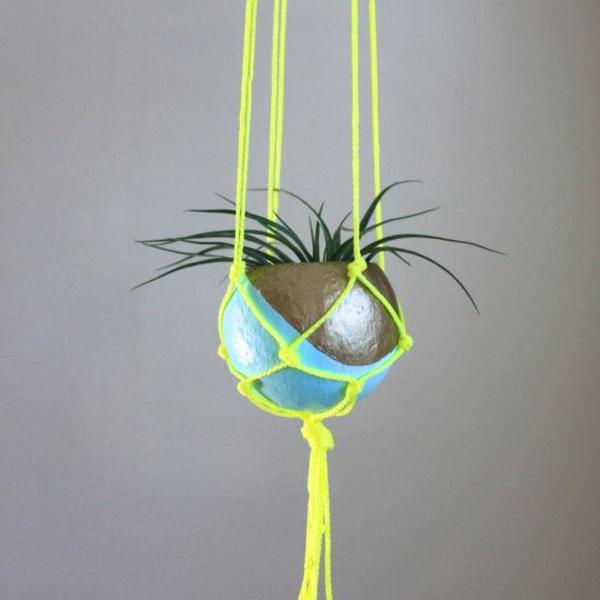 Hängender-Blumentopf-Deko-Idee