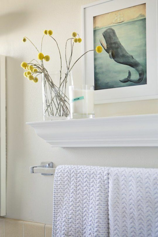 -Handtuch.halter-im-Badezimmer-klassisches-Design