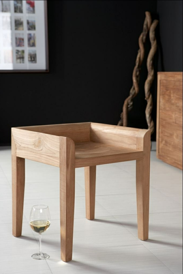 Badhocker design holz  Hocker Modern Schwarz | gispatcher.com