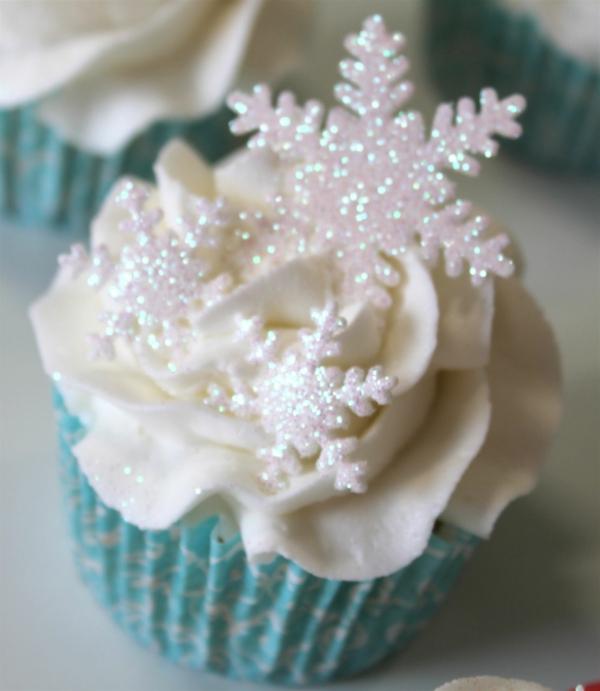 -Ideen-Cupcakes-für-Weihnachten-zu-verzieren