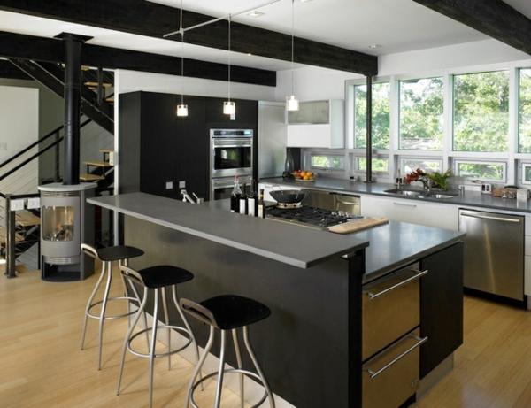 Ideen-für-ein-modernes-Design-schwarze-Farbe