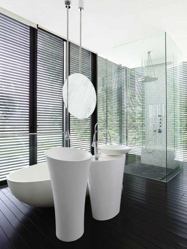 Badezimmer moderne badezimmereinrichtung moderne for Badezimmereinrichtung holz