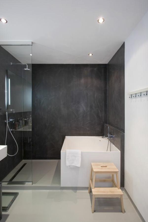 Modernes Badezimmer - Ideen Zur Inspiration - 140 Fotos ... Badezimmereinrichtung Ideen