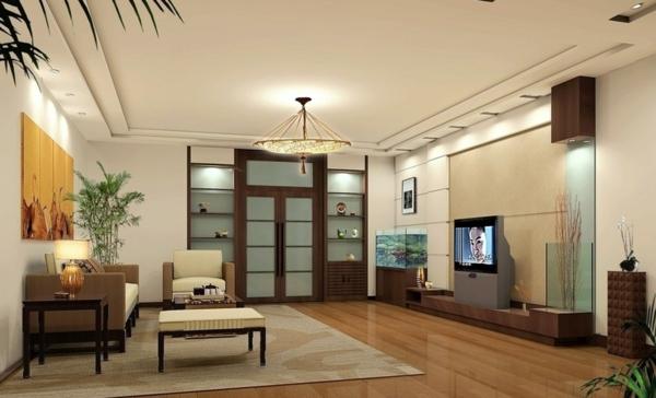 Interior—Design-Idee-mit-schönen-Eierschalenfarben-Holzboden