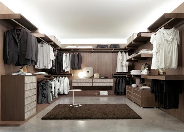 Interior-Design-Idee-moderne-begehbare-Kleiderschränke
