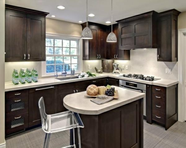 -Interior-Design-Ideen-moderne-Küche-kleine-Kücheninsel