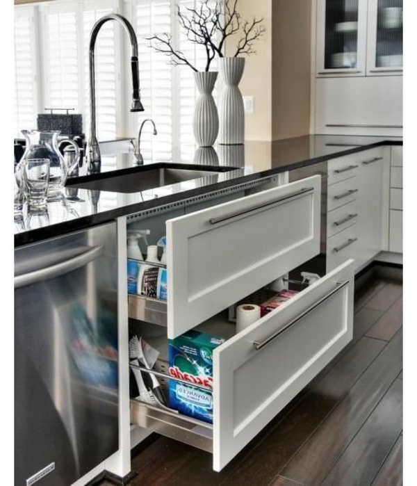 Interior-Design-Ideen-moderne-Küche-praktische-Idee