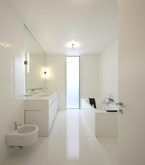 badezimmer weiß | zumadler, Innenarchitektur ideen