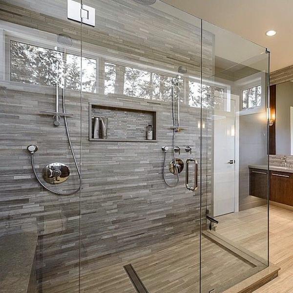 Modernes badezimmer ideen zur inspiration 140 fotos - Modele de carrelage de salle de bain ...