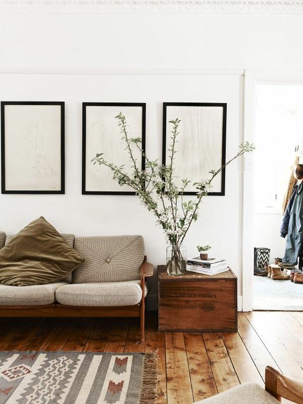 wohnzimmer olivgrün:Schöne elegante Wohnzimmer – stilvolle Kombination aus Weiß und
