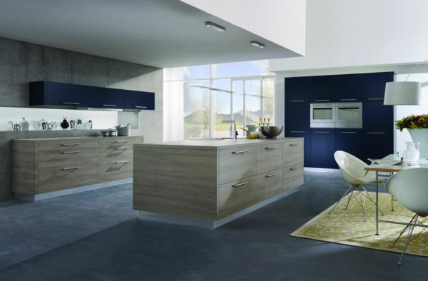 Küche-mit-einem-modernen-Design--Kücheninsel