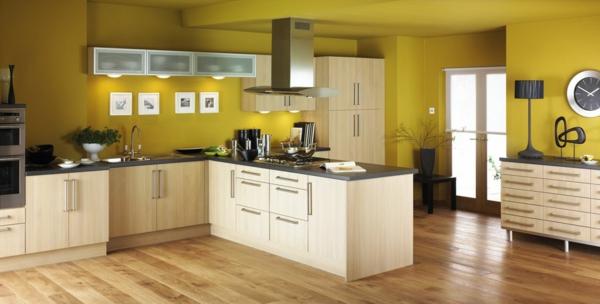 Küche-moderne-Farben-coole Farbe