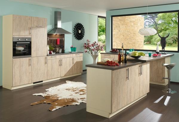 Küchengestaltung-Farbe_Holz-Mint