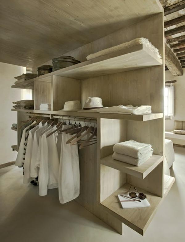 Luxus-Kleiderschrank-begehbar-Design-Idee Luxus begehbarer Kleiderschrank