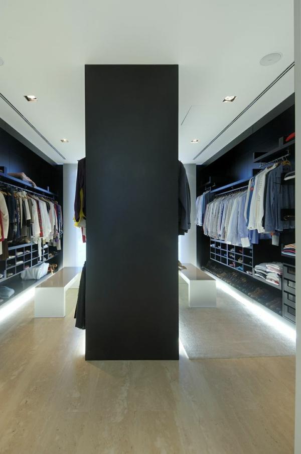 Luxus- begehbare-Kleiderschränke-Design-Idee-Luxus begehbarer Kleiderschrank