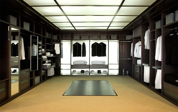 Luxus- begehbarer-Kleiderschrank-für-Männer Luxus begehbarer Kleiderschrank