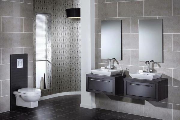 Moderne-Badezimmer-Möbel-Tolle-Innendekoration-Tipps Modernes Badezimmer - Ideen