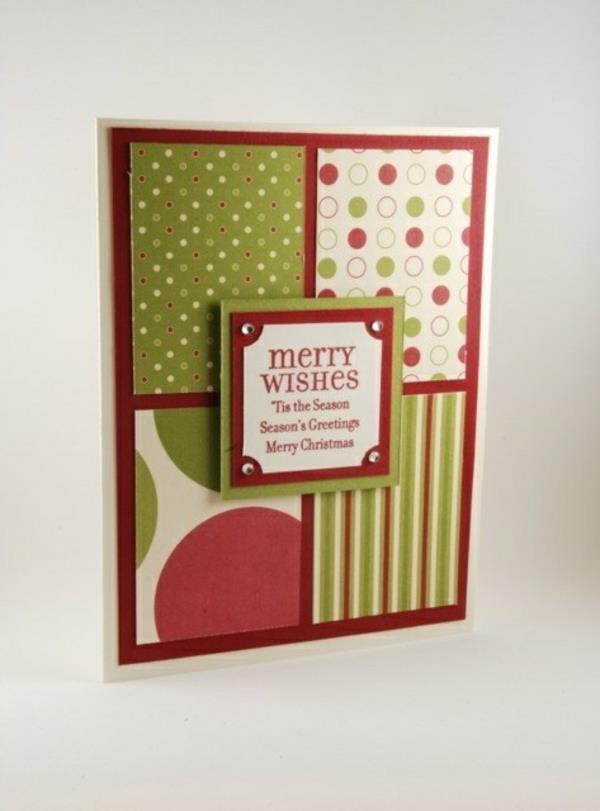 -Originelle-Ideen-für-Gestaltung-von- Weihnachtskarten-