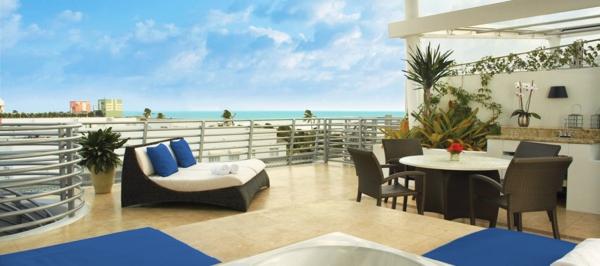 Dachterrasse mit Luxus Design