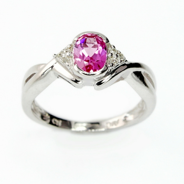 Rosa-Diamant-Ring-schöner-Verlobungsring-Schöner Velobungsring