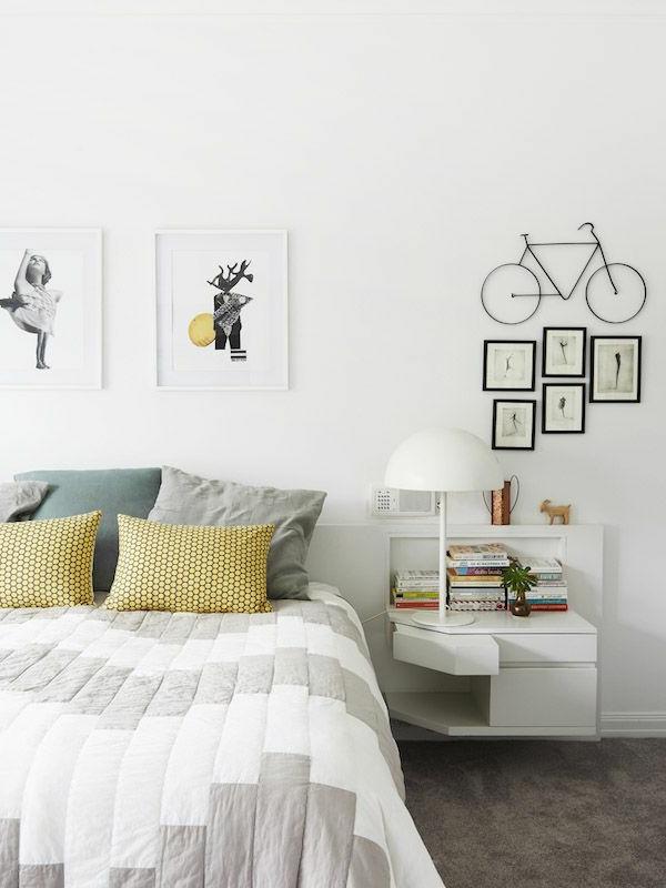 Schlafzimmer-Interior-Design-Idee-kreative-Wandgestaltung