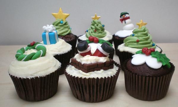Schokoladen-Cupcakes-Rezepten-für-Weihnachten