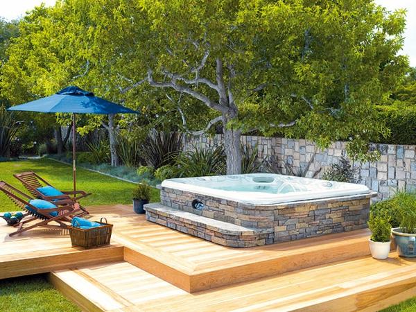 Spa-tolle-Ideen-für-die-Gestaltung-eines-perfekten-Gartens-mit- - Jacuzzi