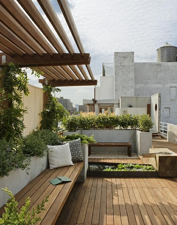 Sch ne terrasse einrichten 100 tolle ideen for Terrassen einrichtung