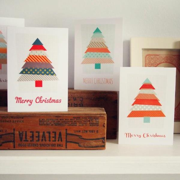 Tolle--Ideen-für-Gestaltung-von- Weihnachtskarten-