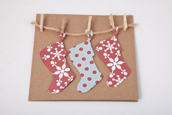 Tolle--Ideen-für-Gestaltung-von- Weihnachtskarten