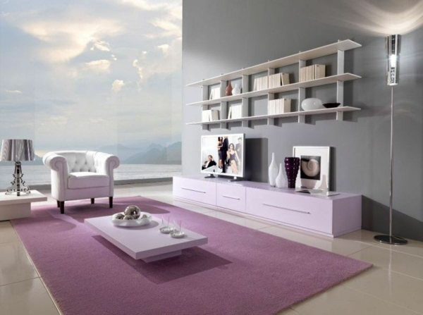 Wandfarben design  Moderne Wandfarben - 40 trendige Beispiele! - Archzine.net