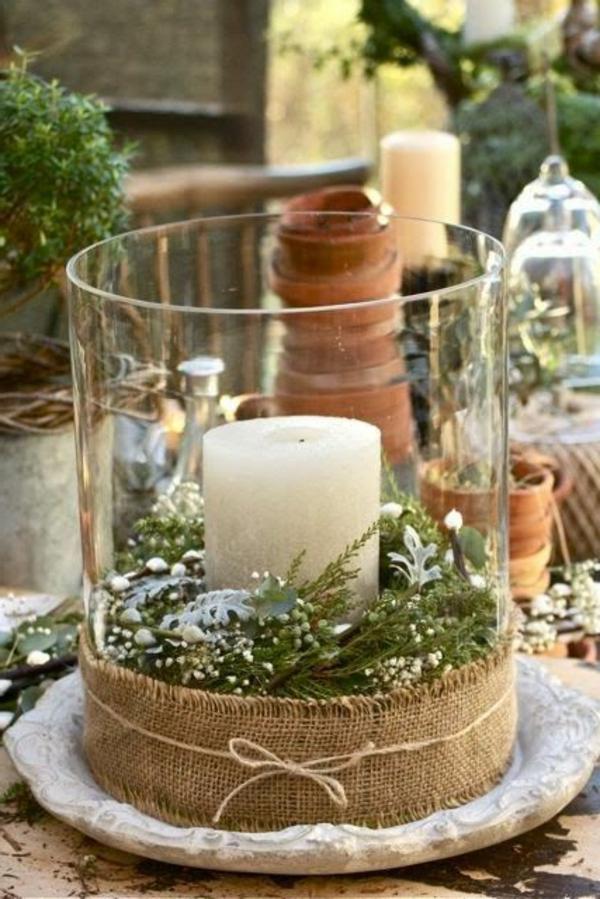 100 tolle weihnachtsbastelideen - Weihnachtsdeko glas ...
