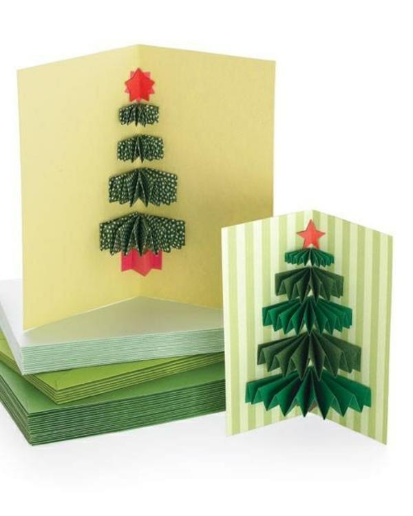Weihnachtskarten-selbst-gestalten-Tannenbaum