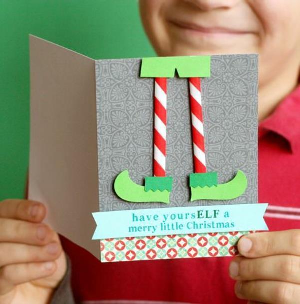 Weihnachtskarten-selbst-gestalten-coole_Ideen