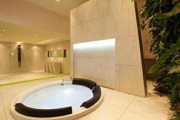 Whirlwanne-Badezimmer-Design-Spa-