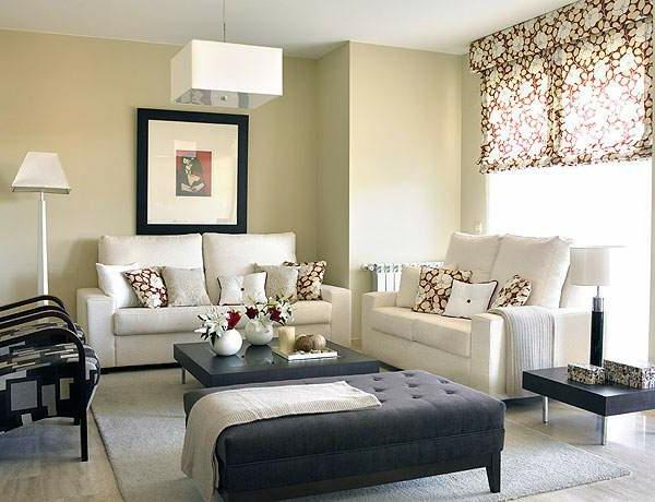 Wandfarbe - Eierschalenfarben Wohnzimmer-Design-Idee--Interior—Design-Idee-mit-schönen-Eierschalenfarben