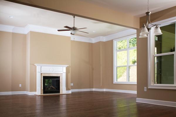 Wandfarbe - Eierschalenfarben Wohnzimmer-elegante-und-stilvolle-Wandgestaltung-mit-neutralen-Farben