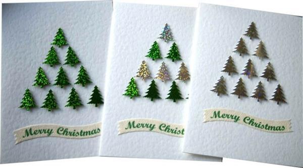 Wunderbare-Ideen-für-Gestaltung-von- Weihnachtskarten-