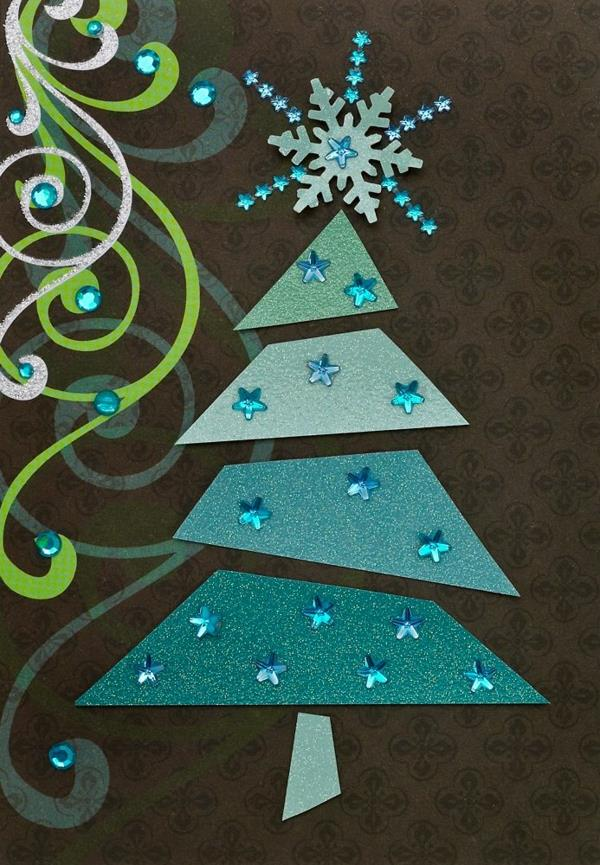 Wunderbare-Ideen-für-Gestaltung-von- Weihnachtskarten--