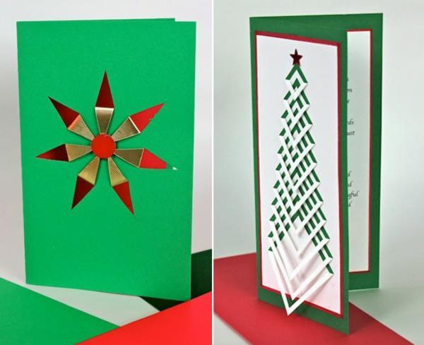 -Wunderbare-Ideen-für-Gestaltung-von- Weihnachtskarten-
