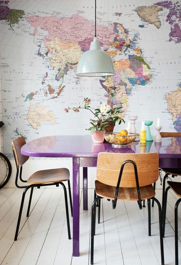 Hochwertig Aktuelles Interior Design Wohnideen Wandgestaltung Weltmappe
