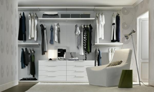 Begehbarer kleiderschrank regalsystem  Luxus begehbarer Kleiderschrank - 120 Modelle! - Archzine.net
