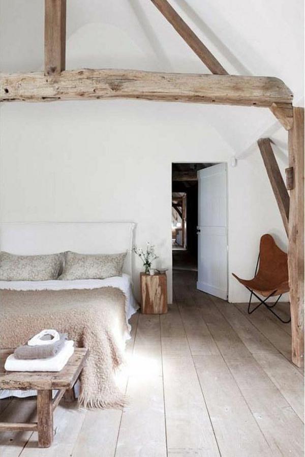 Uberlegen Bäuerliches Schlafzimmer Modern Gestalten